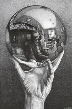 M.c.escher clipart finger