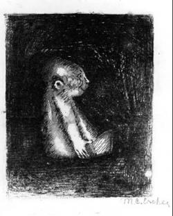 M.c.escher clipart monkey