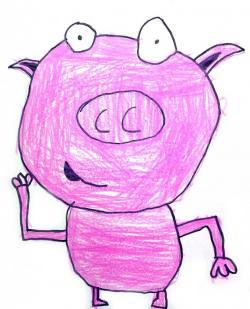 M.c.escher clipart pig