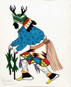 M.c.escher clipart reindeer