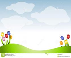 Meadow clipart meadow background
