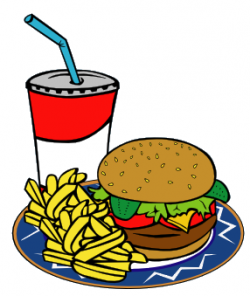 Burger clipart kids menu