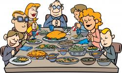 Feast clipart family time