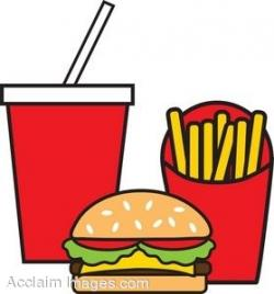 Drink clipart junk food