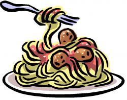 Meatball clipart italian pasta