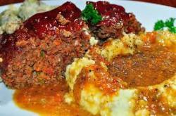 Meatloaf clipart dinner