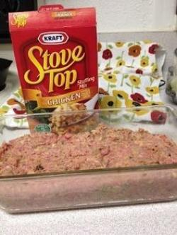 Meatloaf clipart easy