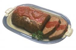 Meatloaf clipart home cooking