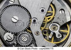 Clockworks clipart old
