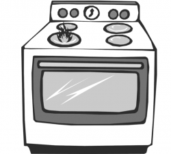 Mechanical clipart oven