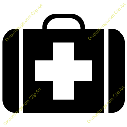 Medical clipart doctor bag