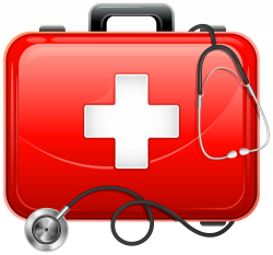 Medical clipart doctor kit