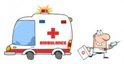 Emergency clipart ambulance