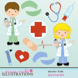Medicinal clipart child doctor
