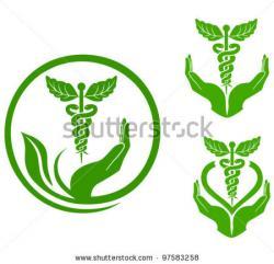 Medicinal clipart emblem