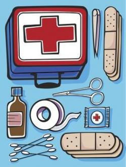Medicinal clipart first aid box