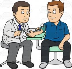 Nurse clipart blood pressure
