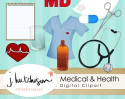 Medicinal clipart medical record