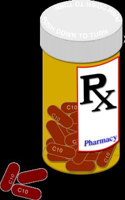 Medicinal clipart medicine bottle