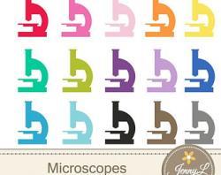 Medicinal clipart microscope