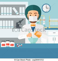 Medicinal clipart pharmacist
