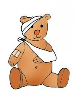 Sick clipart teddy bear