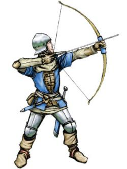 Medieval clipart archery