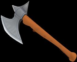 Axe clipart medieval
