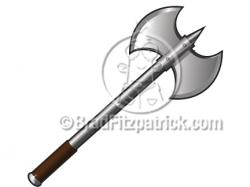 Axe clipart battle axe
