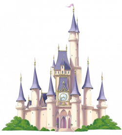 Disneyland clipart cinderella castle