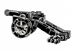Canon clipart medieval