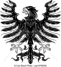 Medieval clipart eagle