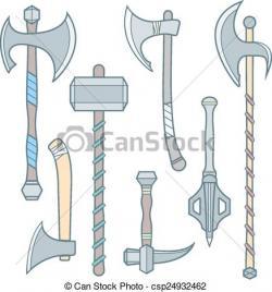 Medieval clipart hammer