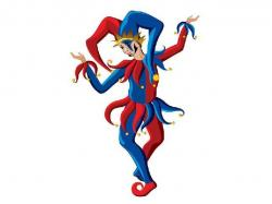 Jester clipart royal