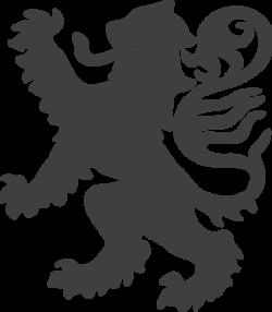 Medieval clipart lion
