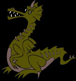 Fantasy clipart medieval dragon