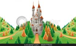 Palace clipart medieval manor