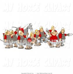 Roman Warriors clipart medieval soldier