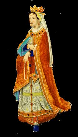 Medieval clipart queen england