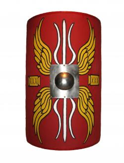Roman Warriors clipart roman shield