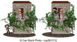 Balcony clipart romeo and juliet