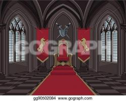 Throne clipart medieval