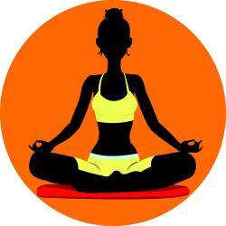 Meditation clipart acceptance