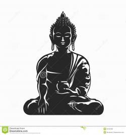 Meditation clipart buddhist meditation