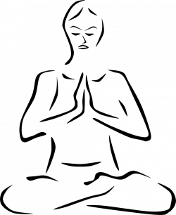 Meditation clipart calm breathing