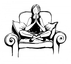 Meditation clipart enlightenment