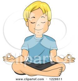 Meditation clipart funny