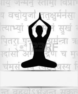 Meditation clipart healthy activity