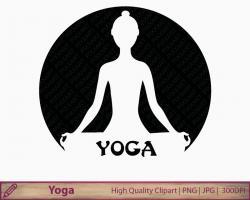 Zen clipart yoga class