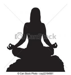 Meditation clipart position